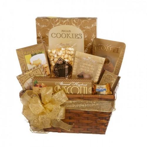Gold Gift Baskets