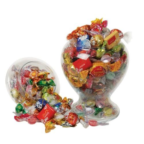 Assorted Chocolates In Glass Jar