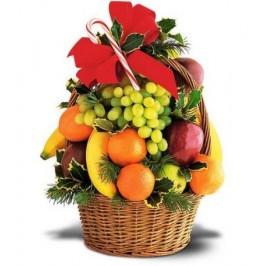 Christmas Tower of Fruit Basket