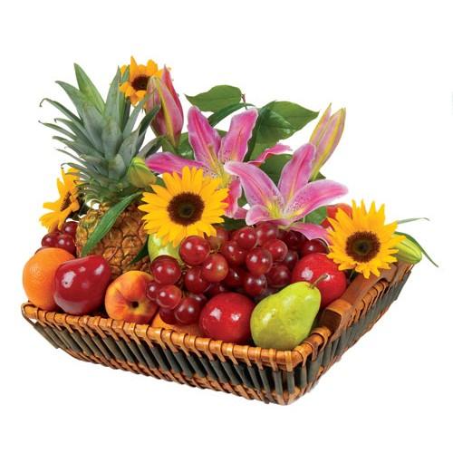 Blooming Seasonal Fruit Tray