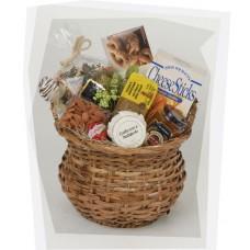 Wicker Pot Gift Basket