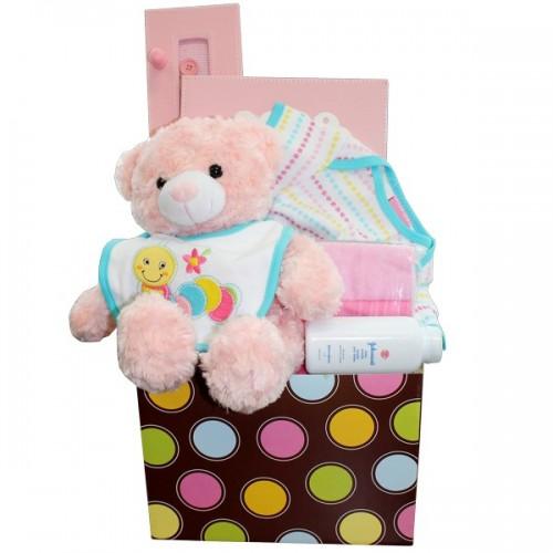 Cute Baby Gift Basket