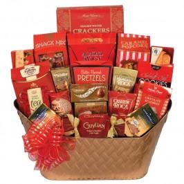 Christmas Gourmet Basket To Go