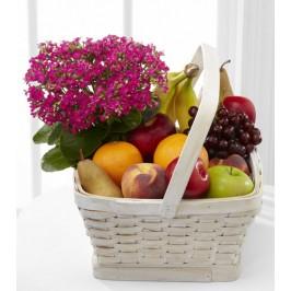 Flowering Fruit Basket