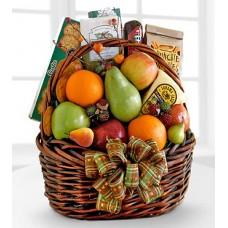 Take-Your-Pick Fruit & Snacks Basket